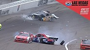 Red flag brought out after Bubba, Ware wreck
