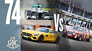 Mercedes Shootout - F1 v AMG GT v 'Red pig'