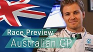 Nico explains the challenges that face an F1 driver during the 2016 Australian GP