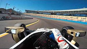 IndyCar-Helmkamera in Phoenix