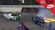 Burton Blows a Tire and Collects Koch