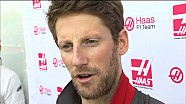 GP de Chine - Interview de Romain Grosjean