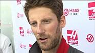GP de Chine - Interview de Romain Grosjean