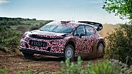 Citroën Racing completes initial testing of 2017 WRC