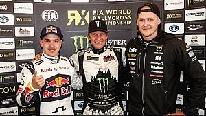 Winner's Press Conference: Montalegre RX - FIA World RX 2016