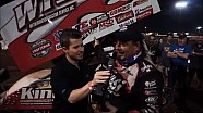 2016 World of Outlaws Craftsman Sprint Car Series Victory Lane from I-30 Speedway