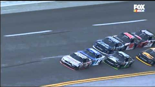 Wildes Talladega-Finish: Heftger Crash von Logano