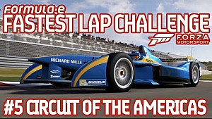 Forza Motorsport 6 Fastest Lap Challenge (#5 Circuit of The Americas)