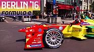 Daniel Abt pilote une Formule E dans les rues de Berlin