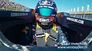 Max Verstappen exclusivo material de archivo a bordo RB8, circuito Parque Zandvoort, viernes, 06 de mayo de 2016