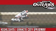 World of Outlaws Craftsman Sprint Cars Granite City Speedway June 15th, 2016 | HIGHLIGHTS