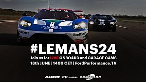 Ford GT LIVE at Le Mans 2016 | Onboards, Garage, Timing and Radio Le Mans | #LeMans24
