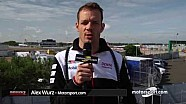 24 Hours of Le Mans - Alex Wurz Sunday morning update