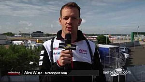 24h Le Mans: Alex Wurz zur Situation