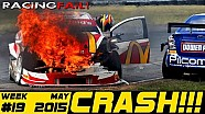 Racing and Rally Crash Compilation Week 19 May 2015