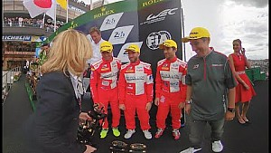 360° VIDEO: Rebellion Racing Podium at Le Mans