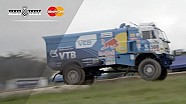 Mighty Red Bull Kamaz truck jumps at #FOS!