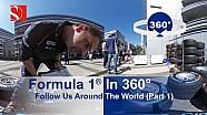 F1 en 360º al rededor del mundo con Sauber F1 Team