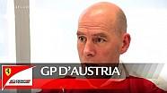 El GP de Austria con Jock Clear-Scuderia Ferrari 2016