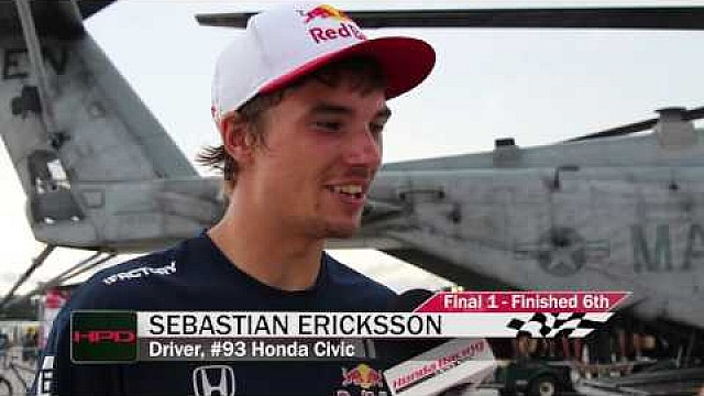 HPD Trackside -- Red Bull Global Rallycross at The Base