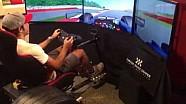 Vuelta a Silverstone en el simulador - Carlos Sainz