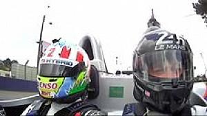 24h Le Mans: Wurz fährt Brad Pitt