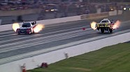 WILD Ride in both lanes for Pedregon & Bode in Chicago #NHRA