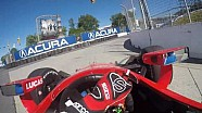 A bordo: Mikhail Aleshin en el Honda Indy Toronto