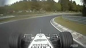 F1-Demofahrt auf der Nordschleife