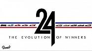 La evolución de los coches ganadores de las 24h de Le Mans