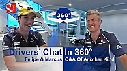 Drivers' Chat in 360° - With Marcus Ericsson & Felipe Nasr - Sauber F1 Team