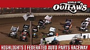 World of Outlaws Craftsman Sprint Cars Federated Auto Parts Raceway August 5th, 2016   HIGHLIGHTS