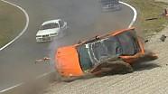 Flinke crash BMW E36 op Zandvoort