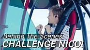 Challenge Nico! Will he, won't he? Can he, can't he?
