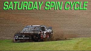 NASCAR: Chaos in de regen