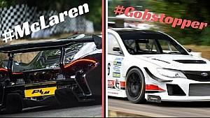 McLaren P1 LM vs Gobstopper II Subaru Impreza