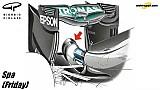 Piola: Heckflügel von Mercedes