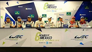 WEC 6 Hours of Mexico City - Post-Race press conference
