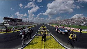 Experience the Pro Stock final from Indy through the #MelloYello360 cam