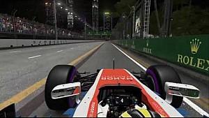 Rio Haryanto / Singapore 2016 Virtual Lap / F1 2016