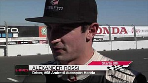 HPD Trackside -- Sonoma IndyCar Qualifying Report