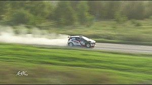 FIA ERC - Rally Liepaja Highlights LEG2