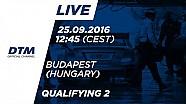 DTM Budapeşte 2016 - 2. Yarış Sıralama Turları