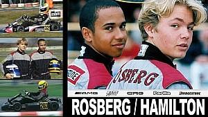 Lewis Hamilton vs Nico Rosberg | Karting Dünya Kupası 2000