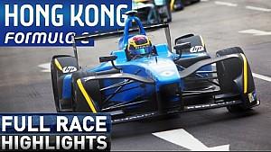 Формула Е, е-Прі Гонконгу - найкращі моменти гонки