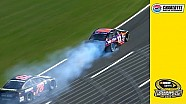 Hamlin's engine blows late at Charlotte