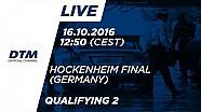 Кваліфікація (Гонка 2) - DTM Хоккенхайм - Фінал 2016