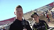 2016 Monster Energy Cup - Stilez Robertson Trackwalk Interview