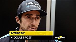 Interview de Nicolas Prost au Mondial de l'Auto