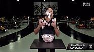红牛1.92秒挑战 - 里卡多吃棉花糖